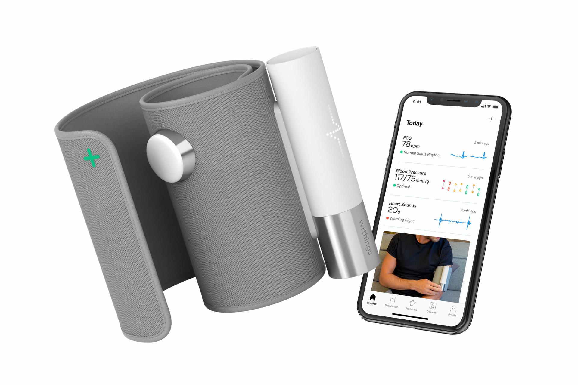 Blutdruckmessgerät mit EKG und digitalem Stethoskop