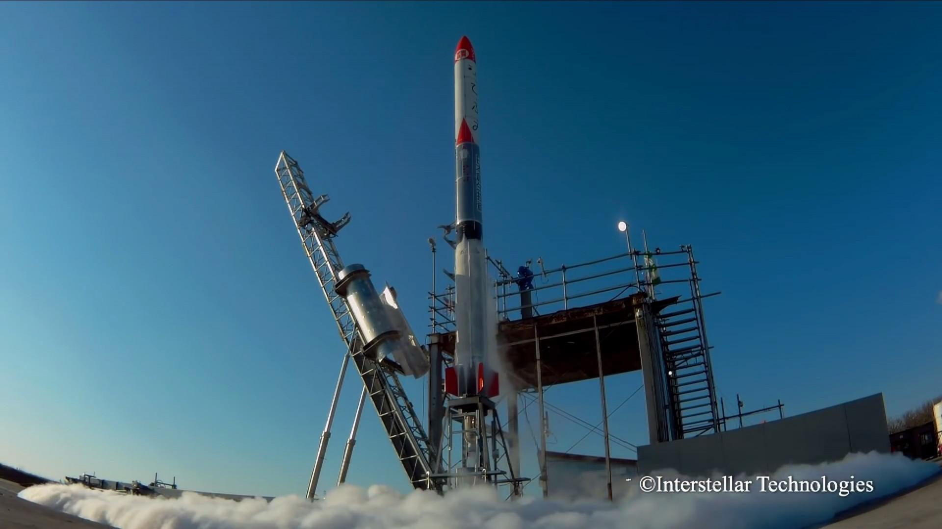 Japanische Firma testet erfolgreich eigene Rakete