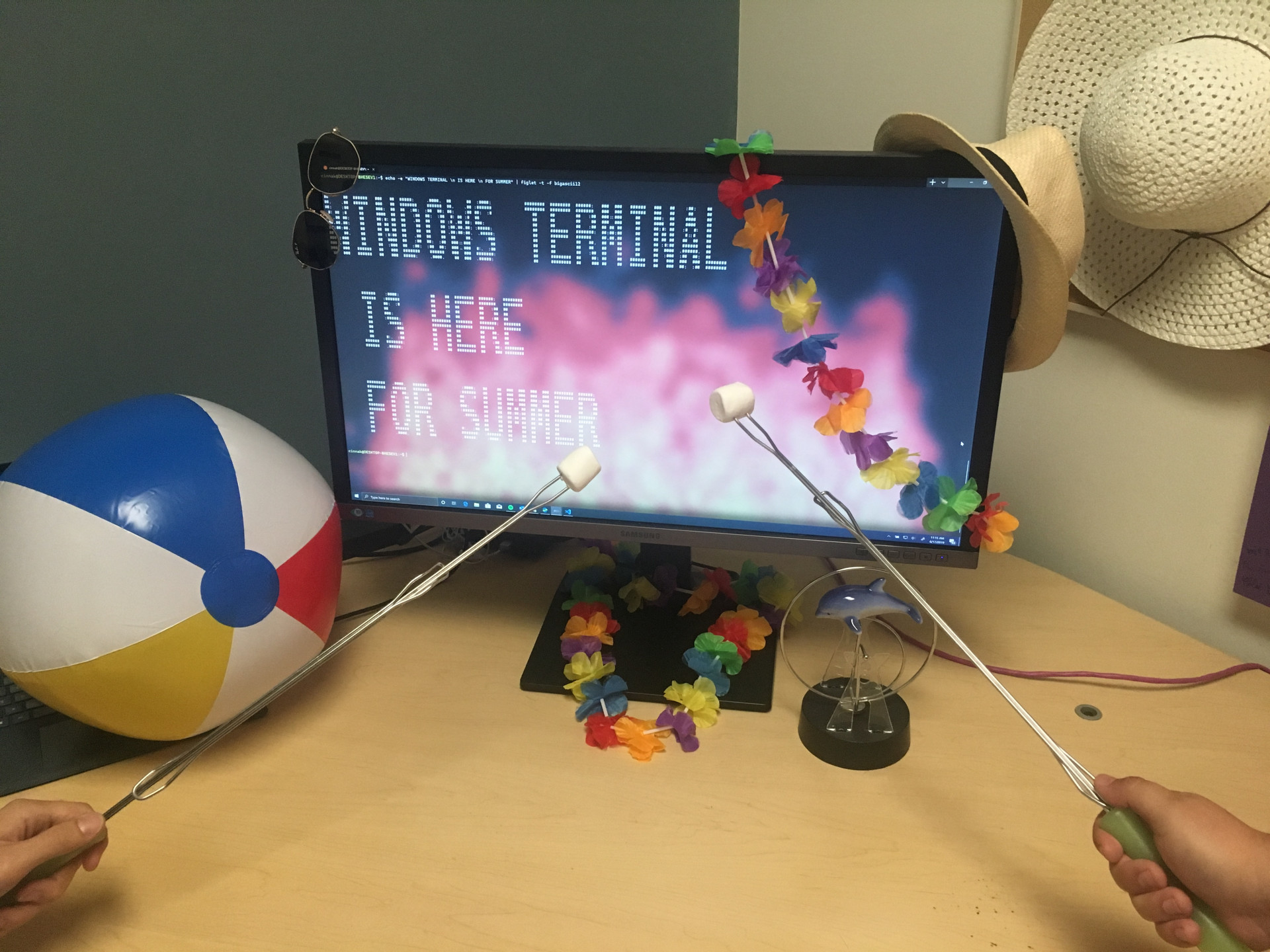 Windows Terminal: Pre-release version of the new Windows 10