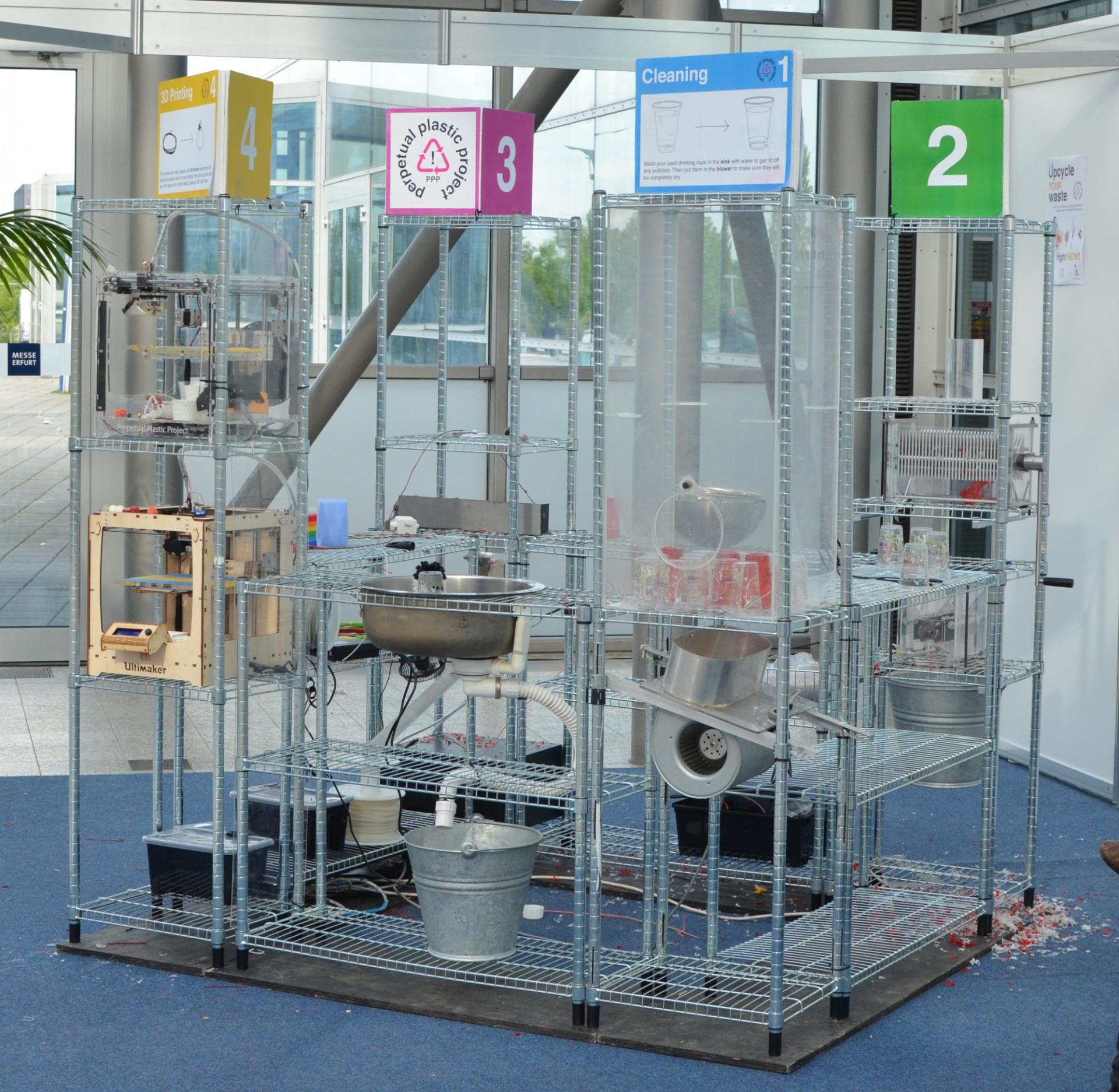 recycling plastik als 3d druck material heise online. Black Bedroom Furniture Sets. Home Design Ideas
