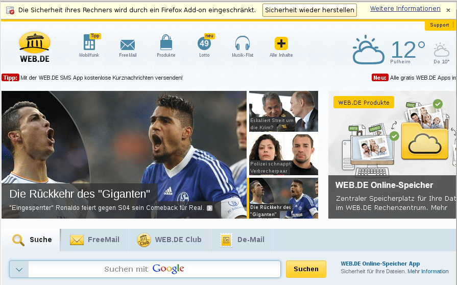 """""""Seitenmanipulierende Add-ons"""": United Internet startet Kampagne gegen Adblocker"""