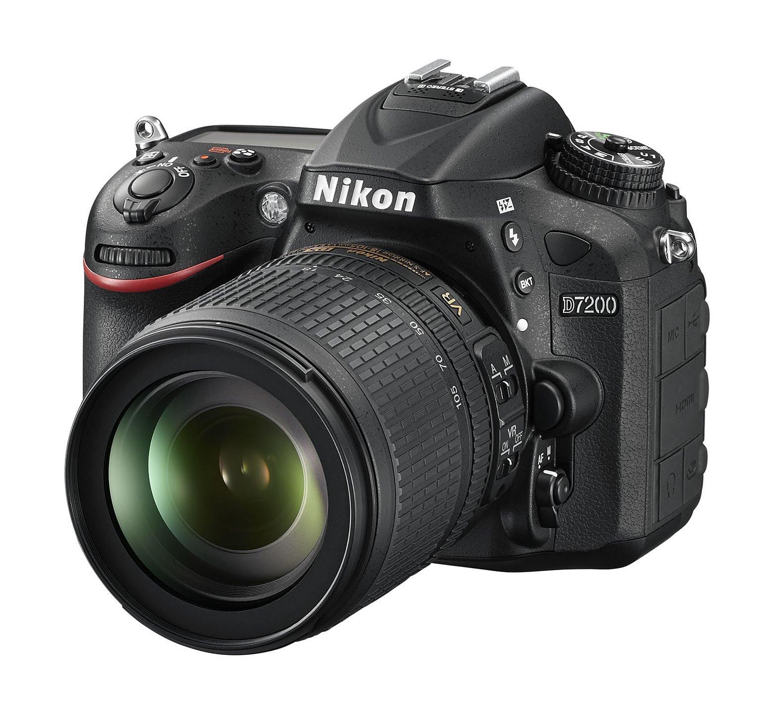 Digitale Spiegelreflexkamera: Nikon D7200 DSLR mit lichtstarkem ...