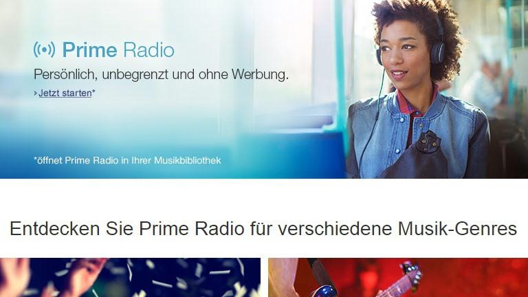 Amazon Prime Music startet in Deutschland