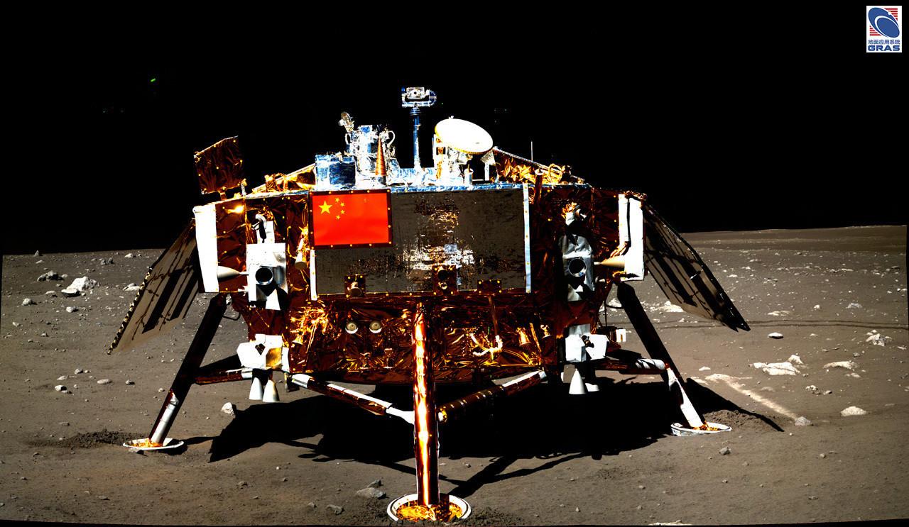 china lands on the moon historic robotic lunar landing - 1280×743
