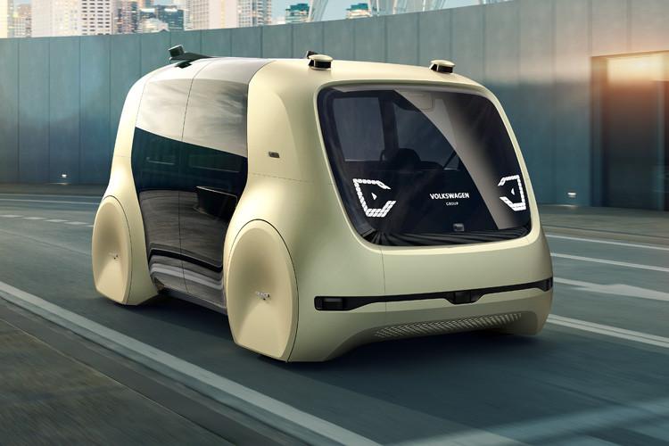 Autonomes fahren mit sedric volkswagen zeigt erstes for Interieur der zukunft