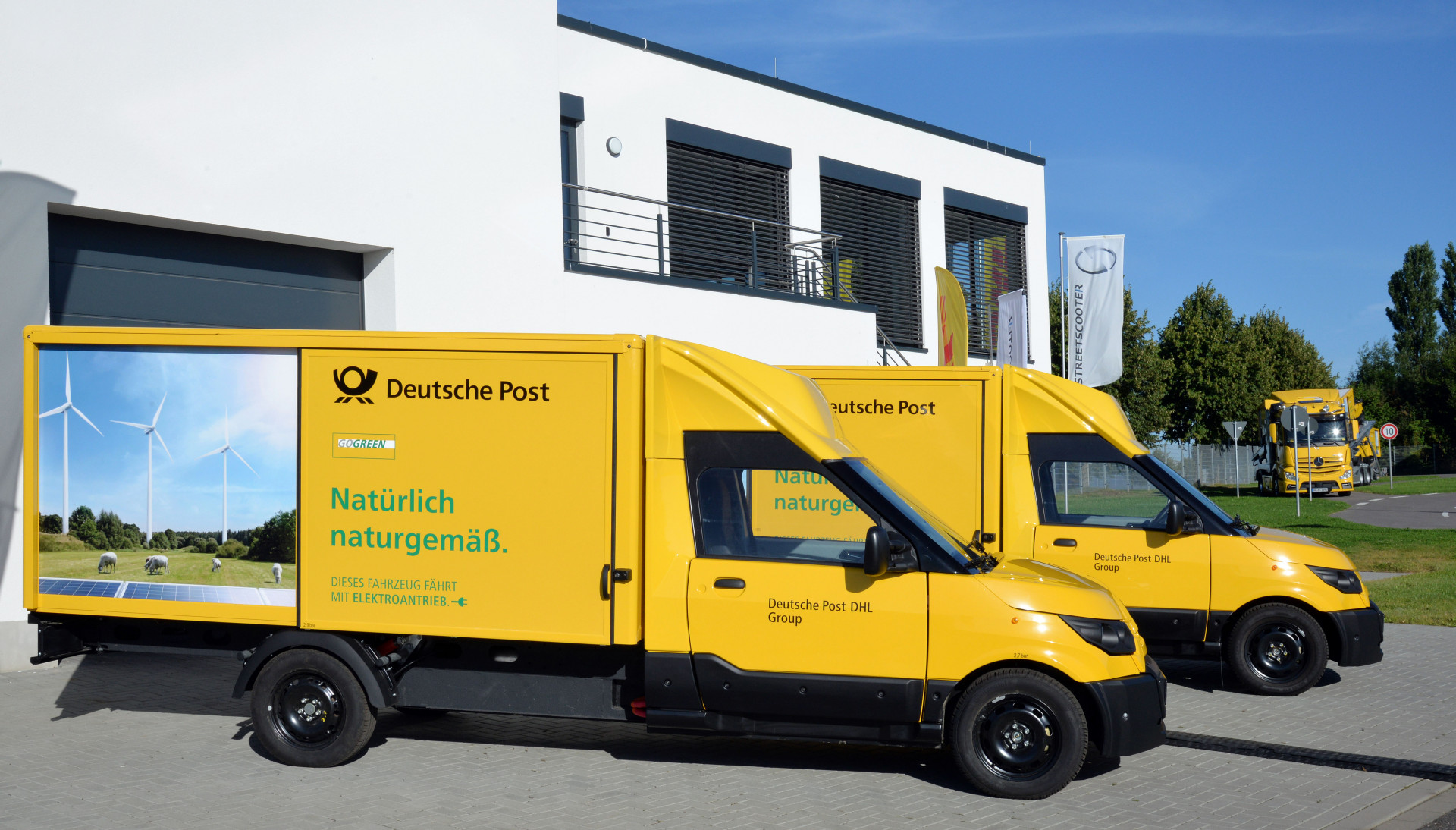Autonomer Streetscooter Deutsche Post Dhl Will Selbstfahrende