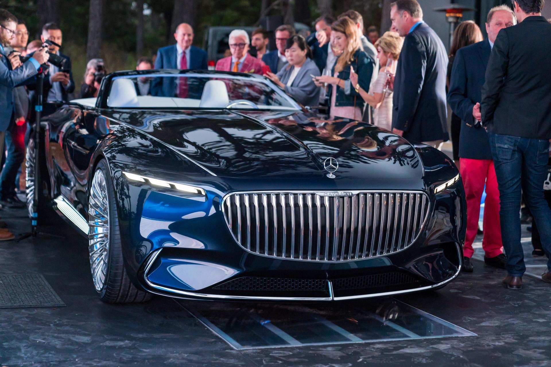 vision mercedes-maybach 6 cabriolet: daimler zeigt konzept für