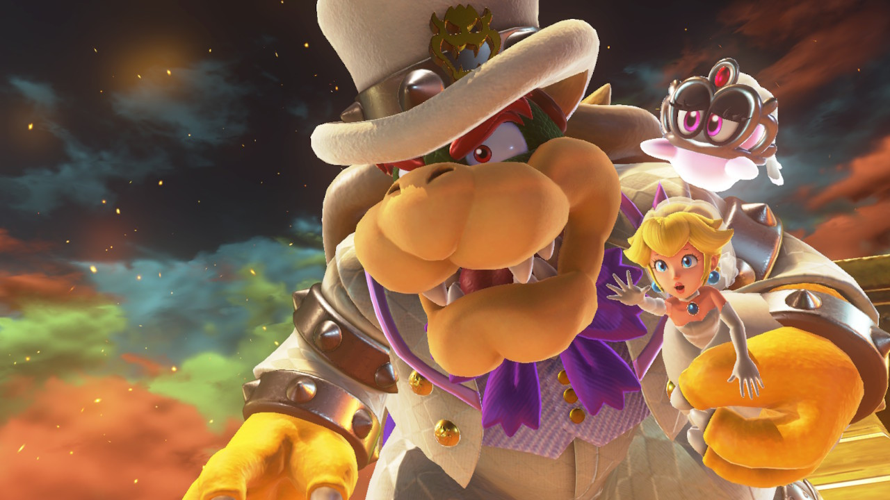 Super Mario Odyssey Durchgespielt Der Hut Steht Ihm Gut Heise Online