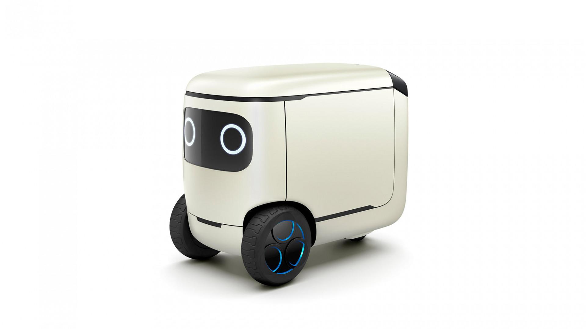 Kühlschrank Im Auto Transportieren : Konzept robocas hondas niedlicher autonom rollender kühlschrank
