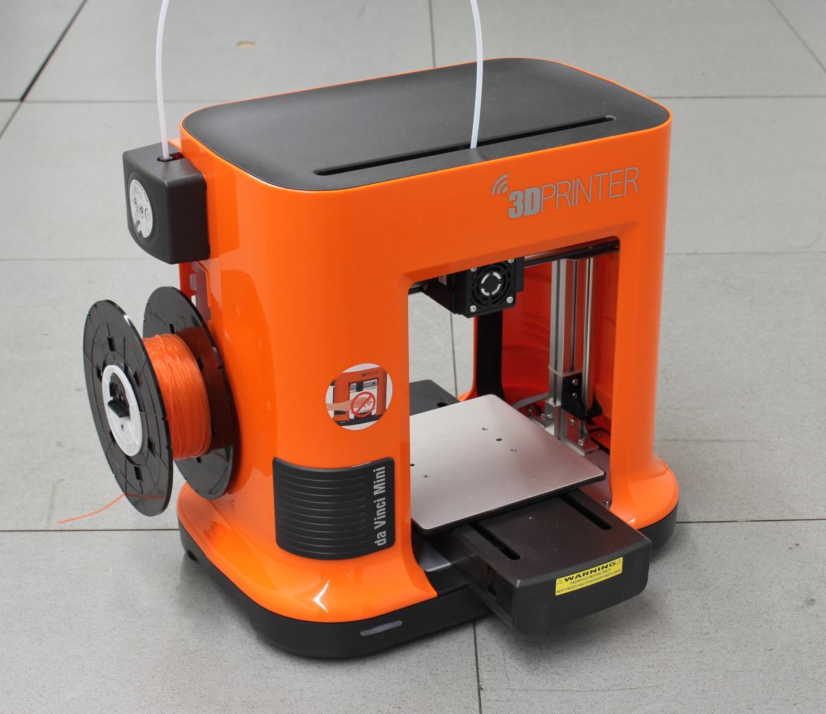 ausprobiert kleine und g nstige 3d drucker von xyzprinting make. Black Bedroom Furniture Sets. Home Design Ideas