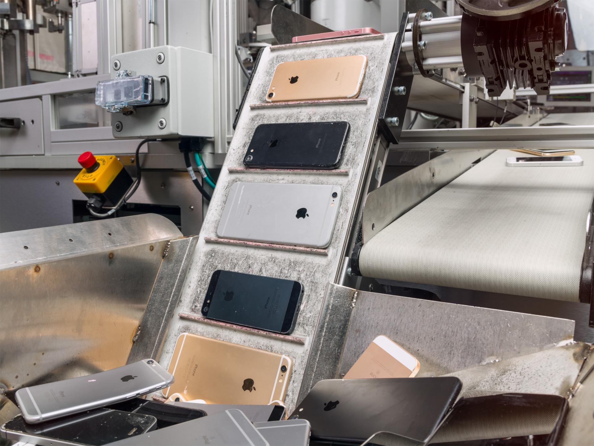"Zweite ""Daisy"" soll Apples iPhone-Recyclingkapazität verdoppeln"