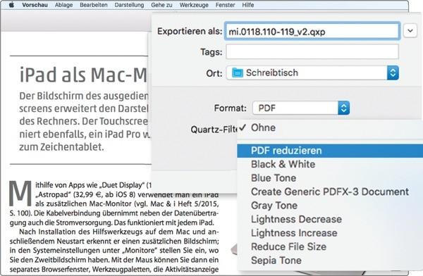 Pdf Dateigröße Am Mac Verkleinern Mac I
