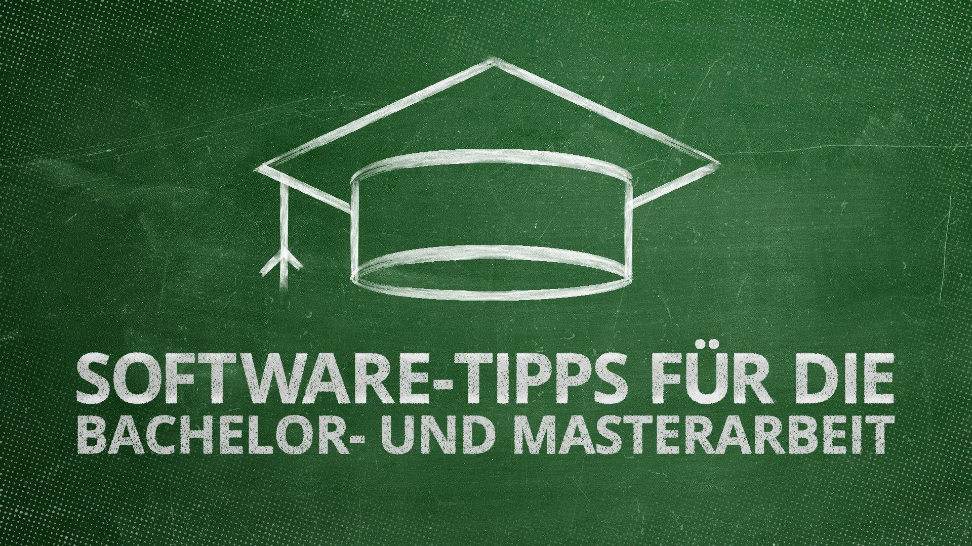 Software Tipps Für Die Master Und Bachelorarbeit Heise Download