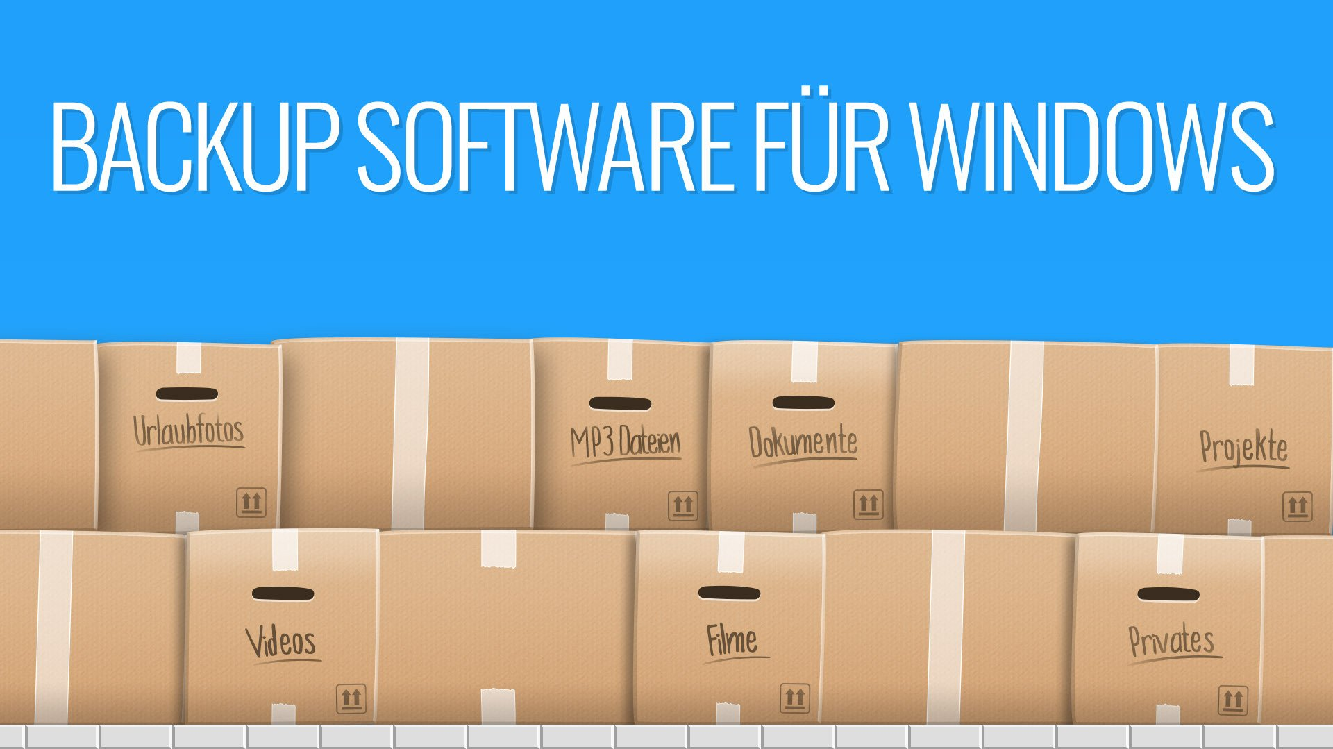 Backup-Software für Windows