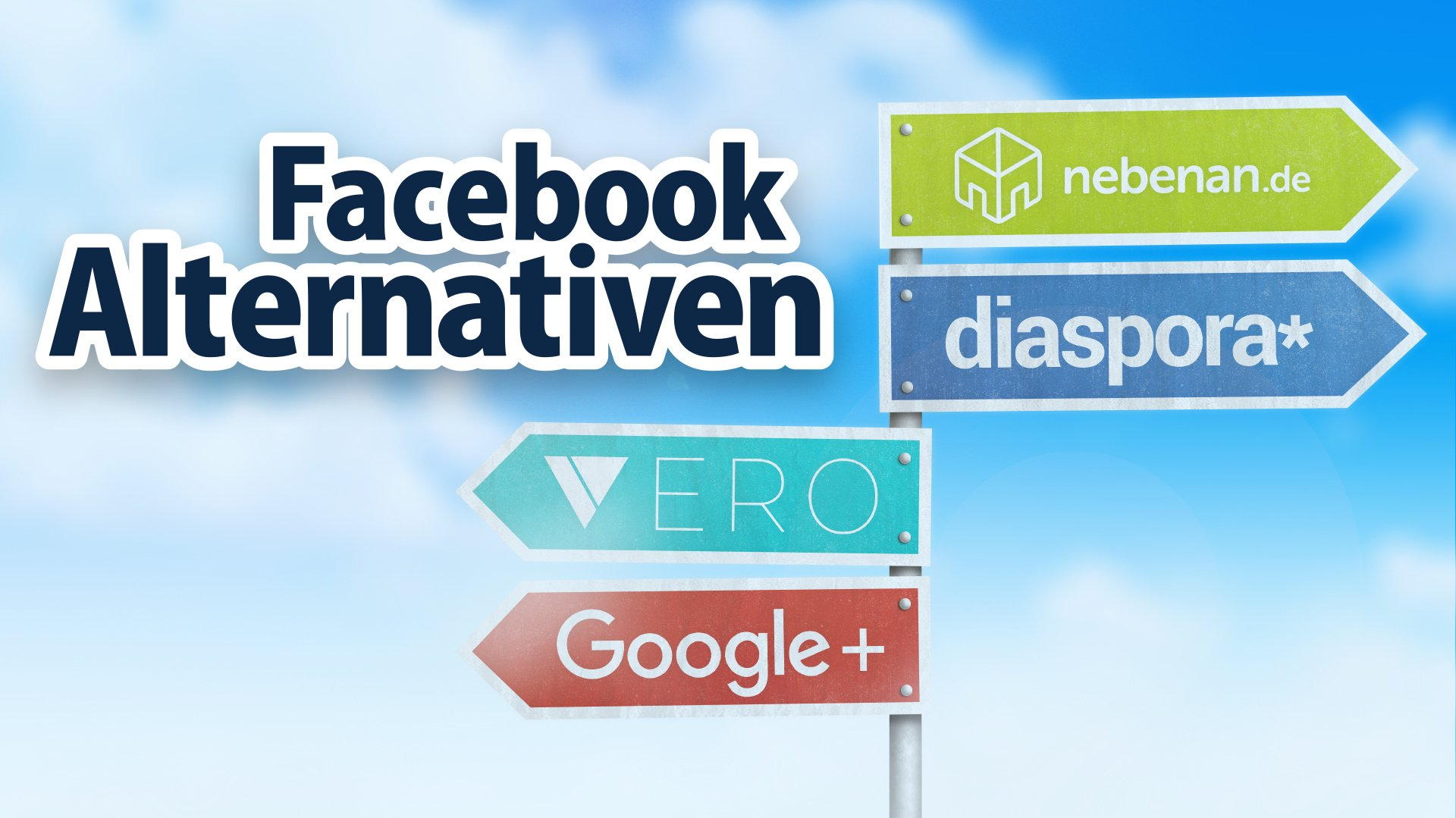 Die besten Facebook-Alternativen