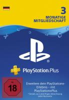 PS Plus (90 Tage, deutsche Accounts)