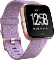 Fitbit Versa Special Edition Aktivitäts-Tracker lavender woven/rosegold aluminium (FB505RGLV)