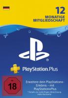 PS Plus (365 Tage, deutsche Accounts)