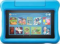 Amazon Fire 7 2019, ohne Werbung, 16GB, blau, Kids Edition