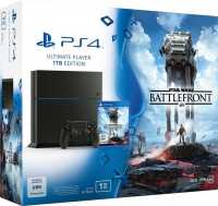Sony PlayStation 4 - 1TB, Star Wars: Battlefront Bundle, schwarz