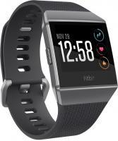 Fitbit Ionic GPS-Uhr charcoal/smoke grey