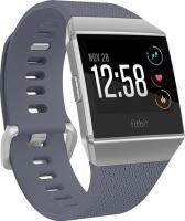 Fitbit Ionic GPS-Uhr blue grey/silver grey