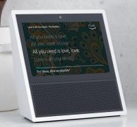 Amazon Echo Show, Zentrale weiss