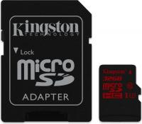 Kingston UHS-I U3 microSDHC  32GB Kit, UHS-I U3/Class 10 (SDCA3/32GB)