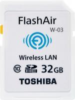 Toshiba FlashAir W-03 Wireless SDHC Class 10  32GB (SD-F32AIR03(8)