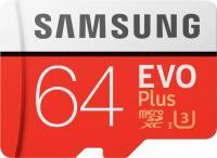 Samsung microSDXC EVO Plus (2017)   64GB Kit, UHS-I U3/Class 10 (MB-MC64GA/EU)