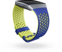 Fitbit Ersatzarmband Sport Large cobalt/lime für Ionic GPS-Uhr