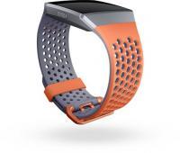 Fitbit Ersatzarmband Sport Large coral/blue/grey für Ionic GPS-Uhr