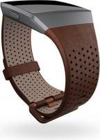 Fitbit Ersatzarmband Leder Large cognac für Ionic GPS-Uhr
