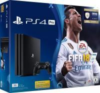 Sony PlayStation 4 Pro - 1TB, FIFA 18 Bundle, schwarz