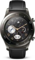 Huawei Watch 2 Classic grau mit Lederarmband schwarz (55021787)