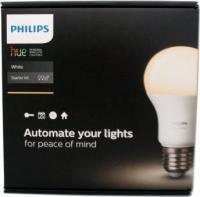 Philips Hue White LED-Bulb E27 9.5W Starter-Kit (449554-00)