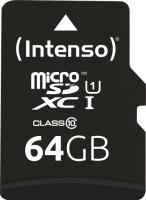 Intenso microSDXC Kit  64GB, UHS-I/Class 10 (3423490)