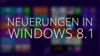 Neuerungen in Windows 8.1