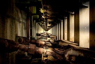 In der Mole / alter Fährhafen Sassnitz von Forstwirt