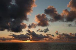 Sonnenuntergang im Pazific von RüdigerLinse