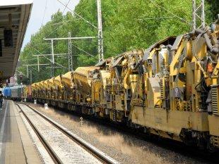 Vorsicht an Gleis neun von baumfrosch