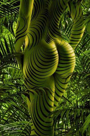 jungle nude in nature von Kristian Liebrand