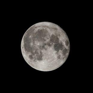 Meine neue Sicht auf den Mond... von etherman