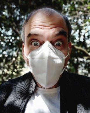 Maske Schützt vor Wahnsinn nicht von Flächenkind