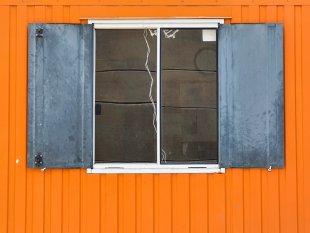 Orange, Grau und Weiß von P.Schastok