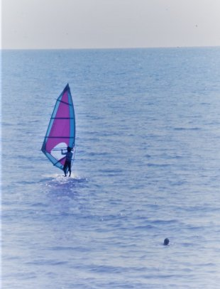 Windsurfing von uniform