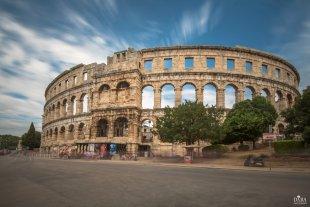Amphitheater Pula von Dyba
