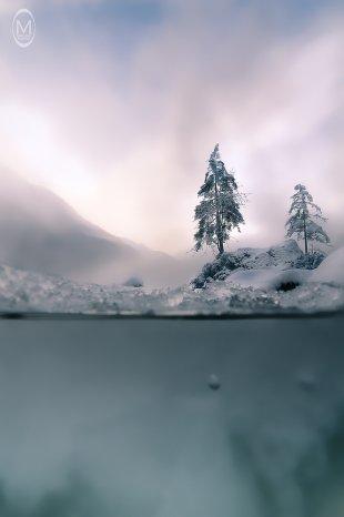 Hintersee im Winter - DifferentView 5 von Marlene Kupfer