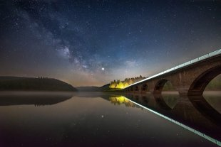 Nacht am See von Evgeni Tcherkasski