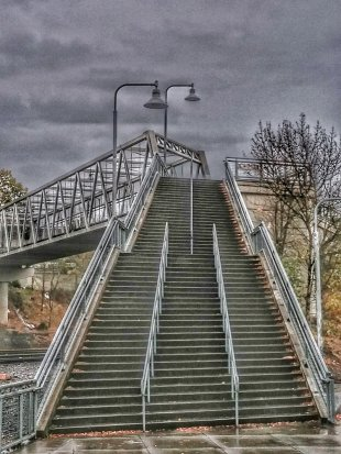 Treppenbrücke von bernddu
